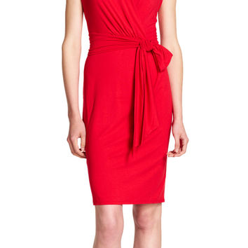 Knit Wrap Dress - Adrianna Papell