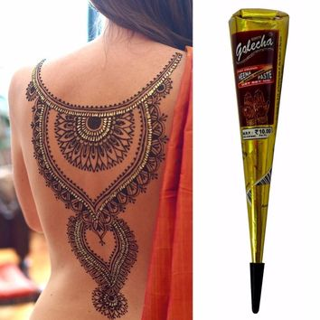 New Arrival Mini Natural Indian Tattoo Henna Paste For Body Drawing 25gram Black Henna New Arrival