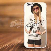 beatiful taylor swift signature band For iPhone 4/s, 5/s, 5c,6, 6+ and Samsung S3, S4, S5 Case Plastic or Rubber