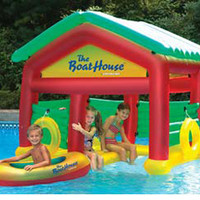 BoatHouse Swimming Pool Floating Habitat