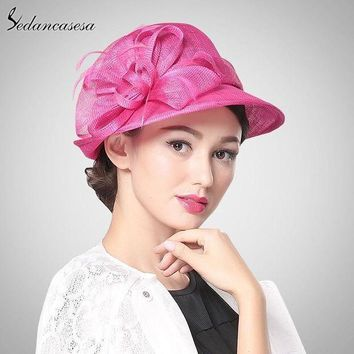 Hot Pink Church Hat Philippines Sinamay Hats For Ascot Racesmebourne Cupweddingkentucky Derbyparty