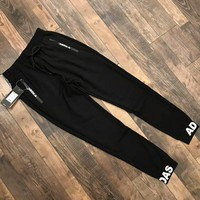 ADIDAS 2018 spring new men and women couples pants F-XMCP-YC