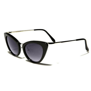 1950's Mod Vintage Inspired Redesign Cat Eye Sunglasses