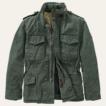 Timberland | Men's Mount Davis M65 Waxed Jacket