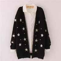 Cool star sweater cardigan YV2300