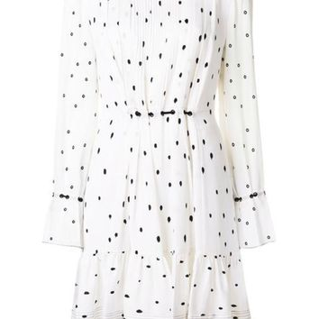 ONETOW 3.1 Phillip Lim Printed Pintucked Dress - Farfetch