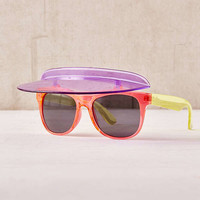 Colorblock Visor Shades | Urban Outfitters