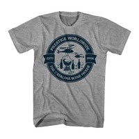 Step Brothers Catalina Wine Circle Men's Heather Grey T-shirt