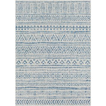 Eagean ll Indoor Outdoor Rug | Blue