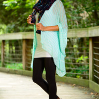 Lovely Lines Cardigan, Mint