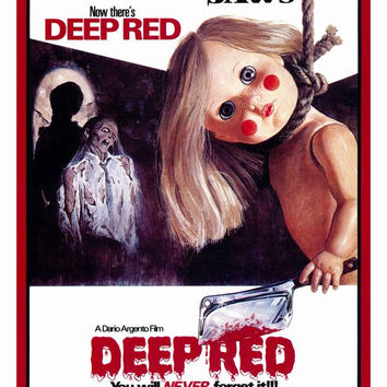 Deep Red 27x40 Movie Poster (1975)
