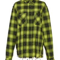 Studded Plaid Shirt | Moda Operandi