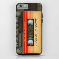 Awesome transparent mix cassette tape volume 1 iPhone 4 4s 5 5c 6, pillow case, mugs and tshirt iPhone & iPod Case by Three Second