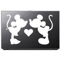 Mouse Couple Love - Animal - Car Window Decal Sticker