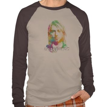 NEVERMIND/Colorful Kurt Donald Cobain T-SHIRT