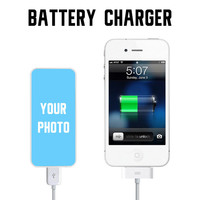 Creat Your Portable Battery Charger Custom Power Bank for iPhone and Samsung