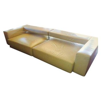 Pre-owned B&B Italia Andy Sofa in Cream Leather