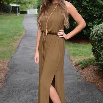 Autumn Amazing maxi, olive