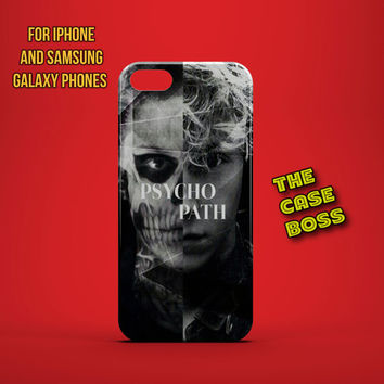 I'M A PSYCHOPATH Design Custom Phone Case for iPhone 6 6 Plus iPhone 5 5s 5c iphone 4 4s Samsung Galaxy S3 S4 S5 Note3 Note4 Fast!