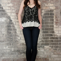 Kick Start Lace Cami Top