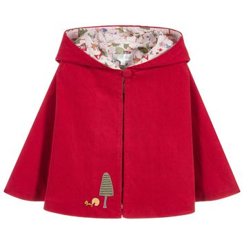 Girls 'Red Riding Hood' Cape