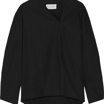 Lemaire - Cotton-poplin top
