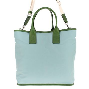 Dolce & Gabbana Blue nylon tote bag