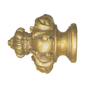 """House Parts Crown Finial For 1 3/8"""" Wood Poles"""