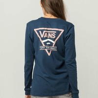 VANS Vintage Side Womens Boyfriend Tee