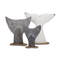 Cara Fish Tail Wall Decor - Set of 3
