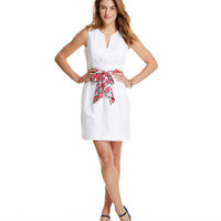 Run For The Roses Sash Dress
