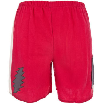 Grateful Dead - Lightning Bolt Red Toddler Shorts