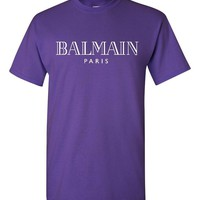Balmain Paris Purple T-Shirt