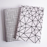 A5 Notebook Geometric Pattern Handmade Soft Cover