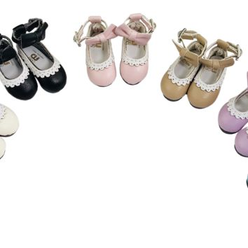ANGELA Doll BOW KNOT MARY JANES ANKLE STRAP SHOES more colors