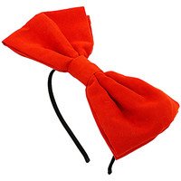 Dorothy Perkins Orange bow headband