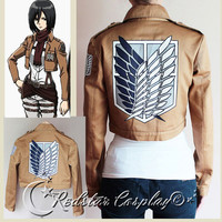 New Attack on Titan Shingeki no Kyojin Recon by RedstarCosplay