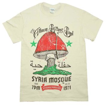 The Allman Brothers Syria Mosque T-Shirt