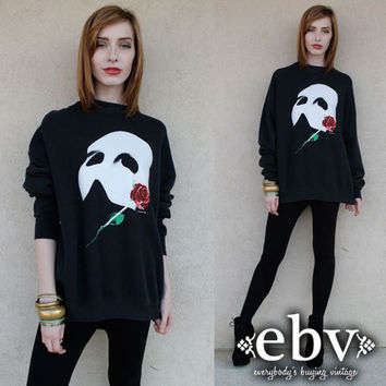 Vintage Phantom of the Opera Sweatshirt S M L XL