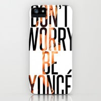 BEYONCÉ iPhone & iPod Case by Hands in the Sky