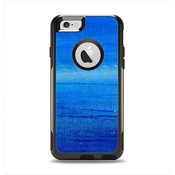 The Unbalanced Blue Textile Surface Apple iPhone 6 Otterbox Commuter Case Skin Set