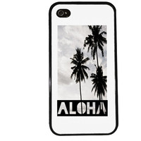 Aloha Case / Paradise iPhone 4 Case Hipster iPhone 5 Case iPhone 4S Case iPhone 5S Case Hawaii Island Photograph Summer Quote iPhone 5C