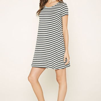 Heathered Stripe Dress | Forever 21 - 2000170397