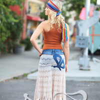 Hippie buterfly skirt