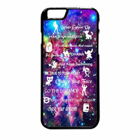 Disney Lesson Learned Mash Up Galaxy iPhone 6 Plus Case