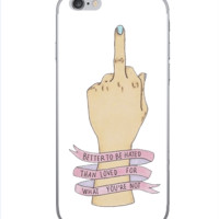 BYE HATER PHONE CASE