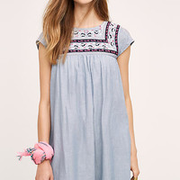 Embroidered Costa Dress