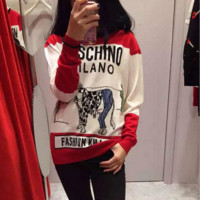 ''MOSCHINO'' Women Cute Sweater