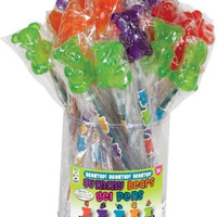 scented gummy bear gel pen Case of 24