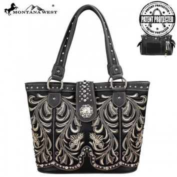 Montana West MW37G-8317 Concealed Carry Handbag